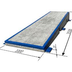 Пандуса бетонные 3,5м